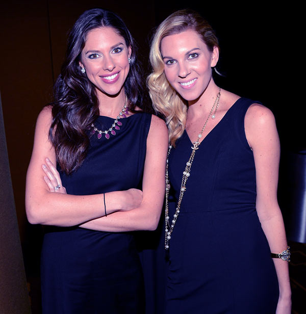 Image of Abby Huntsman with her sister Mary Anne Huntsman