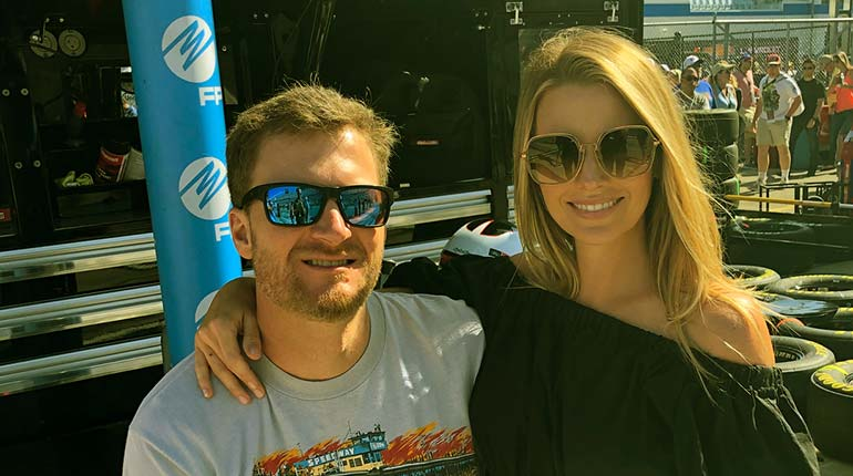 Image of Amy Reimann Wiki: 7 Facts about Dale Earnhardt Jr. Wife.