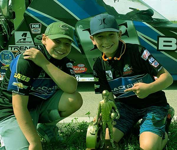 Image of Bruno Massel kids