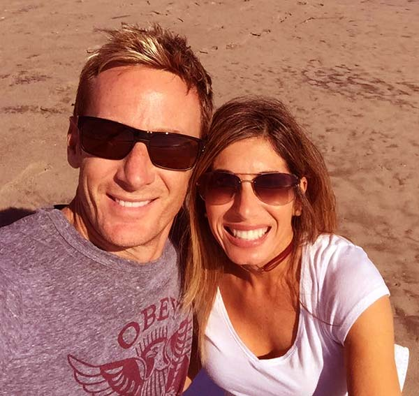 Image of Bruno Massel with wife Danya Purgatorio