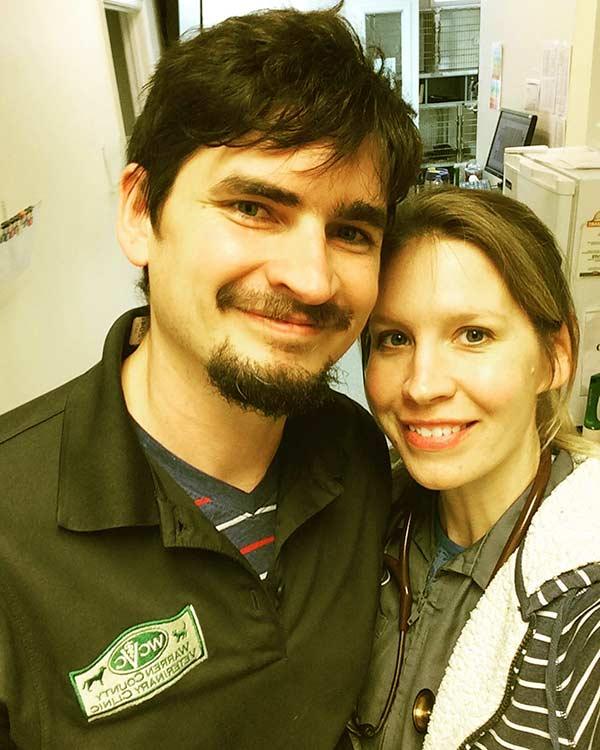 Image of Dr. Emily Thomas with her husband Tony Thomas