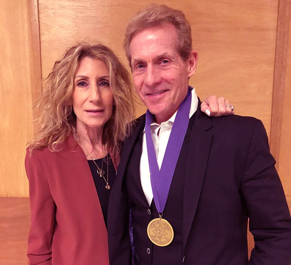 Image of Ernestine Sclafani with her husband Skip Bayless