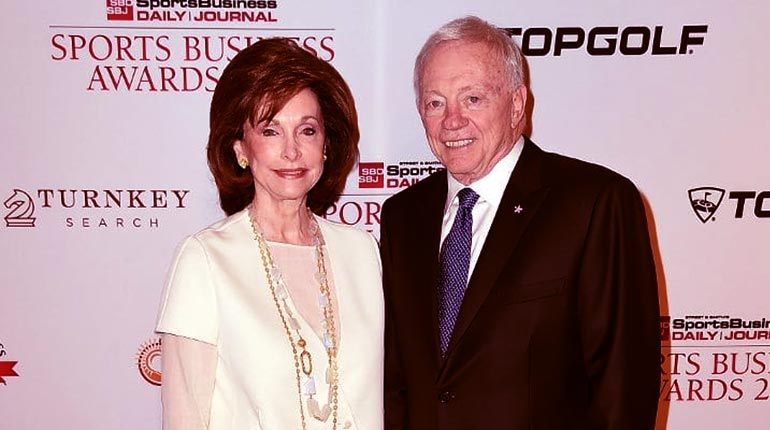 Image of Jerry Jones' wife Eugenia Jones wiki: 7 Facts you should know.