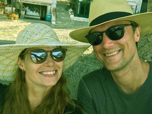 Image of Gillian Turner with her husband Alex Kramer