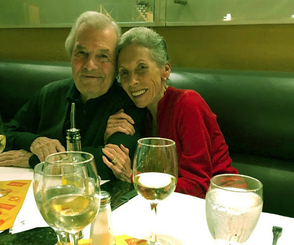 Image of Jacques Pepin with his wife Gloria Pepin