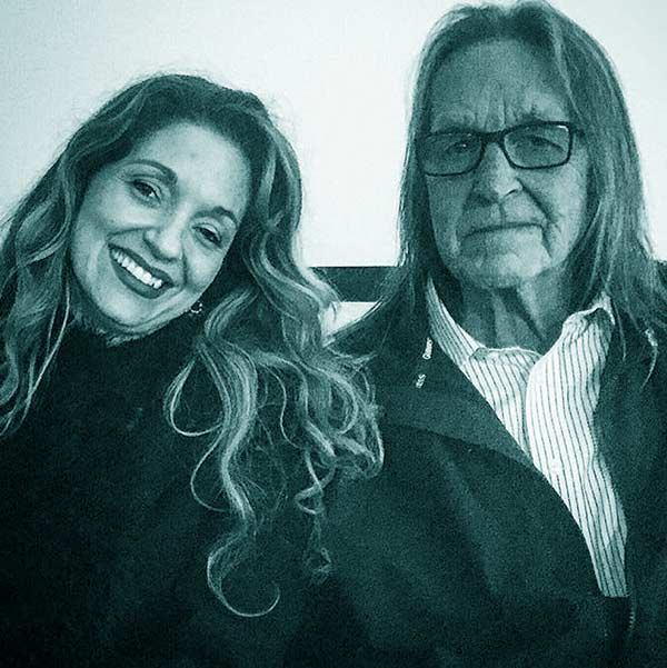 Image of Kristina Sunshine Jung and her father George Jung