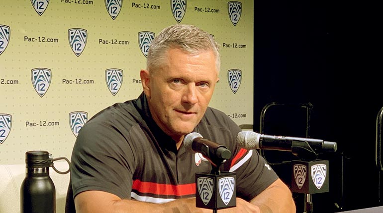 Image of Kyle Whittingham Salary; Meet his wife and Family.