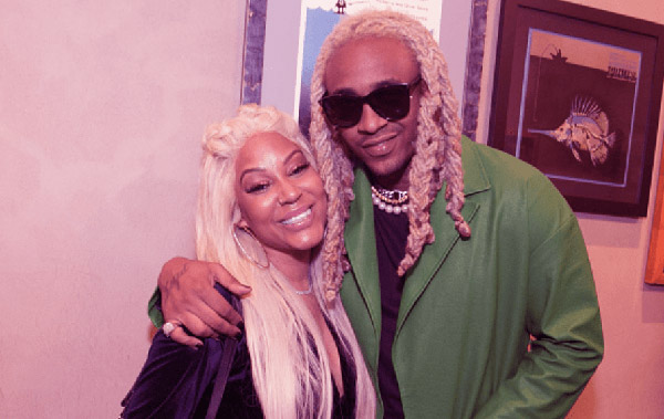 Image of Floyd A1 Bentley with his wife Lyrica Anderson