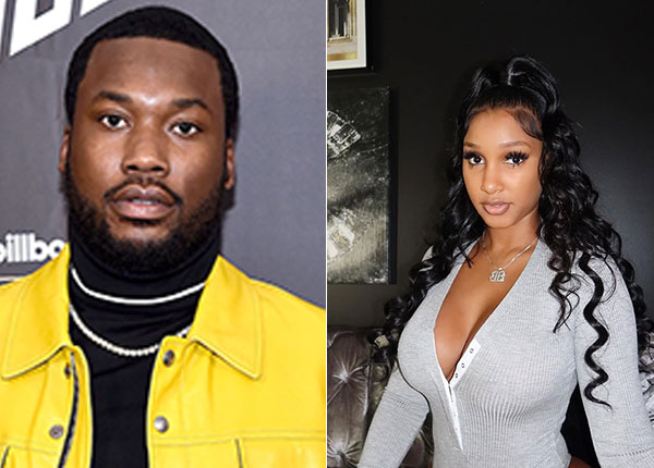 Image of Bernice Burgos currently dating with Meek Mill