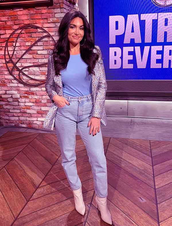 Image of Sports commentator, Molly Qerim height is 5 feet 7 inches