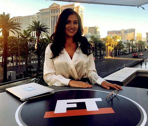 Image of American sports anchor, Molly Qerim