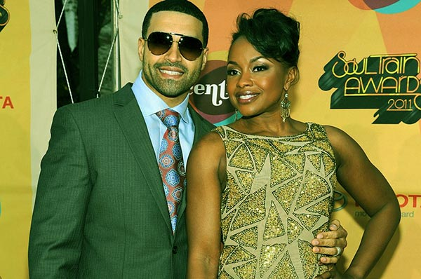 Image of Phaedra with her ex-husband Apollo Nida