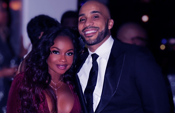 Image of Phaedra Parks dating with Tone Kapone