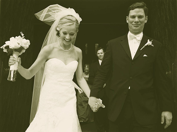 Image of Sandra Smith with her husband John Connelly before 10 years ago