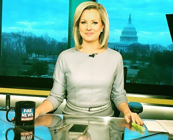 Image of TV host, Sandra Smith net worth