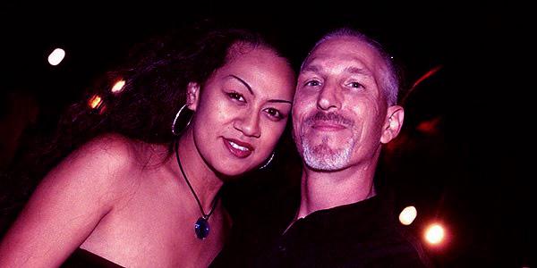 Image of Tim Chapman with wife Davina Chapman