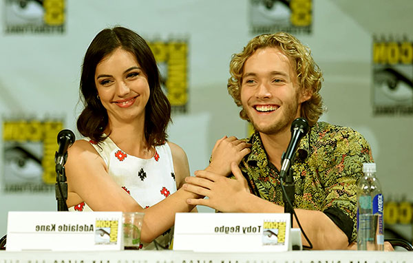 Image of Toby Regbo and Adelaide Kane