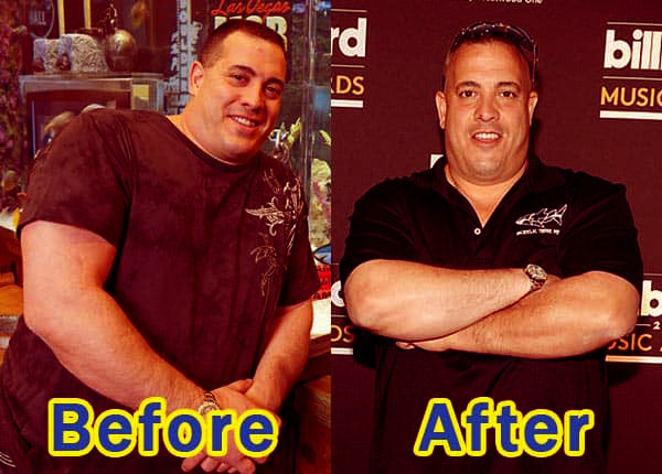 Image of Wayde King weight loss before and after