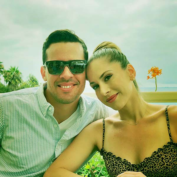 Image of Ana Kasparian with her boyfriend Christian Lopez