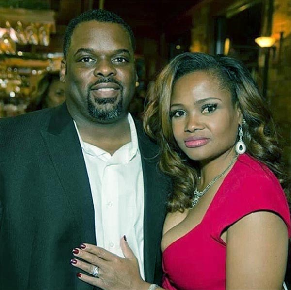 Image of Dr. Heavenly Kims with her husband Damon