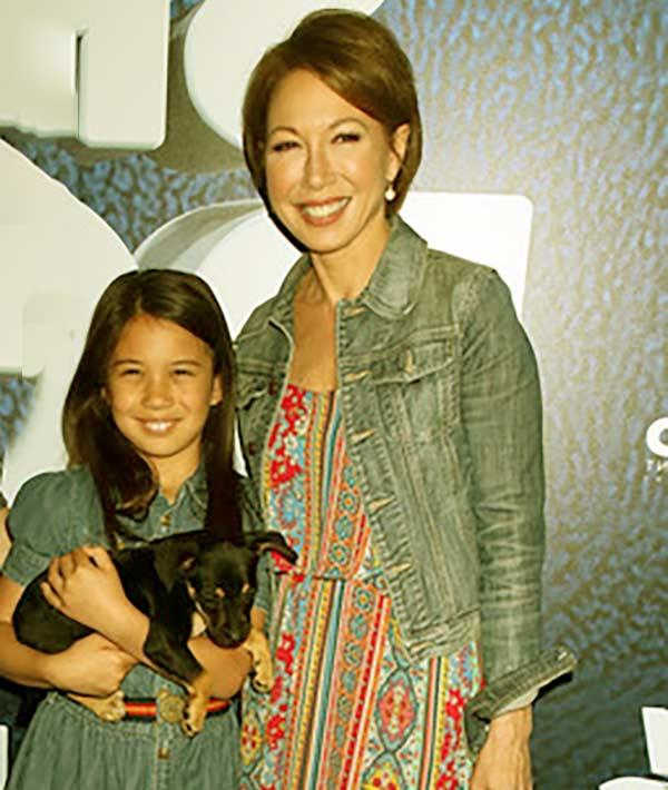 Image of Lisa Joyner with her daughter Daisy Cryer