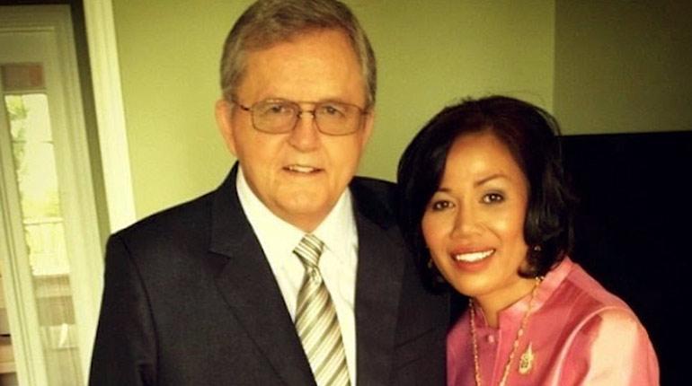 Image of Ron Teigen Sr. Married to Wife Vilailuck Teigen. Bio of Chrissy Teigen's Father.